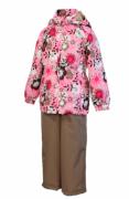 Комплект для девочек демисезонный YONNE 4186CS01-413 HUPPA