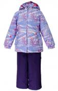 Комплект для девочек демисезонный YONNE  41260011-71143 HUPPA