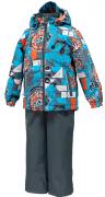 Комплект для мальчиков демисезонный YOKO 41190011-73146 HUPPA